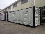 Hauptenergie 900kVA/720kw an 50Hz angeschalten durch ursprünglichen Cummins-Dieselmotor-Ton-Beweis 20 Fuss-Behälter-Diesel-Generator