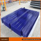 La frontière de sécurité/triangle de treillis métallique d'approvisionnement d'usine déplie la frontière de sécurité de treillis métallique