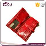 Бумажник повелительниц высокого качества Handmade с материалом кожи воска