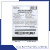 Cartões plásticos da melhor qualidade com códigos de barras