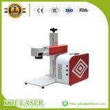 La marcatura del laser di CNC della fibra 10With20With30W di fabbricazione della Cina lavora l'indicatore alla macchina di Ss/Al/Cu