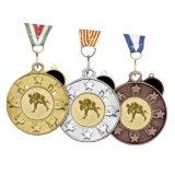 Crear las medallas más nuevas del deporte para requisitos particulares del bronce de la plata del oro 3D
