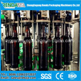 統合された自動炭酸水清涼飲料の充填機