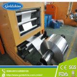 Ligne de rebobinage de papier d'aluminium de ménage et de machine de découpage