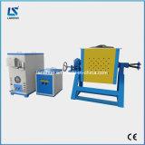 Preço de alumínio elétrico giratório portátil da fornalha de derretimento da indução 40kg