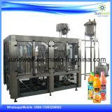 A energia bebe a planta da máquina de enchimento