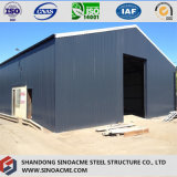Entrepôt en acier préfabriqué de construction avec une expérience professionnelle