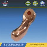 Cotovelo de cobre para a peça de automóvel pelo forjamento quente