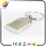 Argent Foto-Rahmen-Zink-Legierungs-Metallschlüsselkette