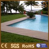 Revestimento ao ar livre de madeira composto Anti-UV da piscina WPC