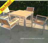 Mobília C-Ao ar livre da tabela e do Teak do pátio das cadeiras