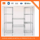 Chrome Wire Shelving Metal Wire Shelf Rack Home Metal Furniture