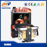 Машина пушки стрельба имитатора видеоигры для Rambo