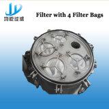 Filtro com os 4 sacos de filtro para o equipamento do tratamento da água