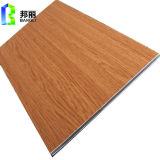 Revestimento composto de alumínio de madeira da parede do revestimento da decoração interior do painel