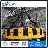 Elevatore magnetico circolare per scarto d'acciaio che alza MW5