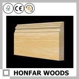 moulage de bordage en bois solide de type d'Européen de 21mmx117mm