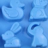 Прессформа DIY подноса/мыла кубика листа/льда торта силикона качества еды FDA/LFGB