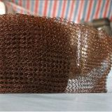 銅線の編まれた金網