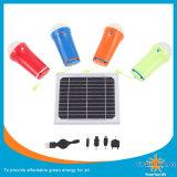 이동 전화 충전기를 가진 태양 토치 4개 피스