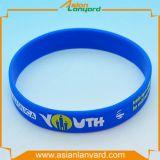Wristband personalizado do silicone da promoção