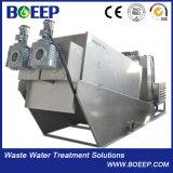 Máquina pequena da desidratação da lama do parafuso da pegada para a indústria petroleira