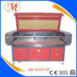 Cortador de alimentação automático do laser para as esteiras da ioga (JM-1610T-AT)