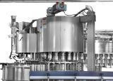 Машина завалки обозначая изготовление машины упаковки минерального сока питьевой воды заполняя