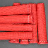 Roter schwarzer blauer weißer Fiberglas-Funken-Stecker-Draht-Hitzeschild