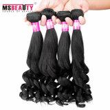 Cheveux humains brésiliens en fleurs de poire Msbeauty afro-américaines
