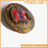 Medaglia su ordinazione di figura di marchio di Plting di (YB-HD-37)