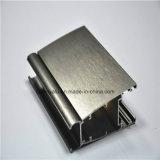 Balayé anodiser le profil en aluminium pour le guichet en aluminium