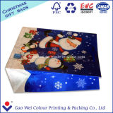 高品質のクリスマスのためのカスタムクラフトの紙袋