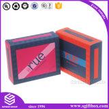 香水のための贅沢で黒いペーパー金ホイル包装ボックス