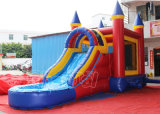 Corrediça de água Bouncy inflável da casa do PVC para os miúdos (CHSL296-1)