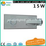 indicatore luminoso solare Integrated del sensore della via di 15W LED con telecomando per il giardino