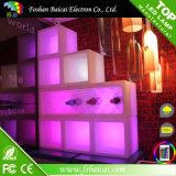 LED 아이스 큐브 플라스틱 입방체 포도주 내각 사각 얼음 양동이