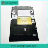 Bac à cartes de PVC pour l'imprimante d'Epson A50