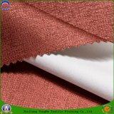 Tela tecida do poliéster do franco de matéria têxtil escurecimento impermeável Home para a cortina de indicador