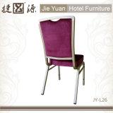 쌓을수 있는 알루미늄 직물은 덮었다 대중음식점 의자 (JY-L26)를