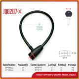 Jq8207-X Sicherheits-haltbares Fahrrad-Verschluss-Motorrad-Stahlkabel-Verschluss