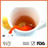 Стрейнер чая качества еды фильтра чая Infuser чая силикона слона Ws-If054