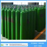 Cylindre d'oxygène en acier inoxydable 2016 de 40L ISO9809 / GB5099