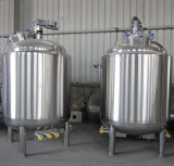 Бак нержавеющей стали химически жидкостный смешивая