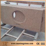 Верхние части тщеты ванной комнаты продуктов строительных материалов кварца для реновации гостиницы