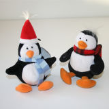 Giocattolo della peluche del pinguino farcito abitudine