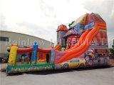 Diapositiva gigante inflable vendedora caliente maravillosa del parque de atracciones