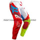 Pantaloni di riciclaggio di motocross dell'OEM dell'attrezzo di usura personalizzati colore rosso Mx/MTB (MAP24)