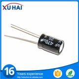 Condensador electrolítico de aluminio de la alta calidad de la cocina de la inducción