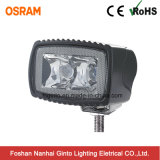 Rectangle 10W Osram LED Spot Work Light para bicicleta